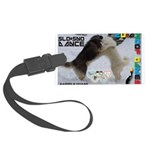 Slo-Sno Dance WOOF Games 2014 Luggage Tag