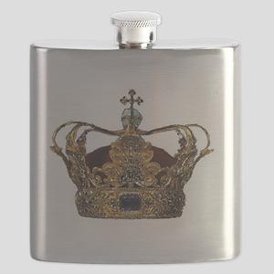 king crown Flask