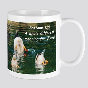 Bottoms Up! Mugs