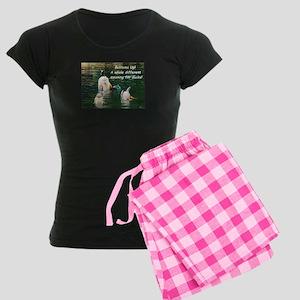 Bottoms Up! Women's Dark Pajamas