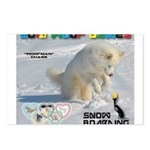 SnowBoarding WOOF Games 2014 Postcards (Package of