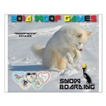 SnowBoarding WOOF Games 2014 Posters