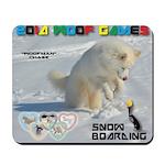 SnowBoarding WOOF Games 2014 Mousepad