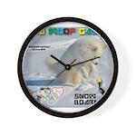 SnowBoarding WOOF Games 2014 Wall Clock
