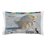SnowBoarding WOOF Games 2014 Pillow Case