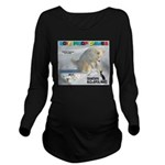 SnowBoarding WOOF Games 2014 Long Sleeve Maternity
