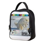 SnowBoarding WOOF Games 2014 Neoprene Lunch Bag