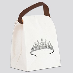 tiara Canvas Lunch Bag