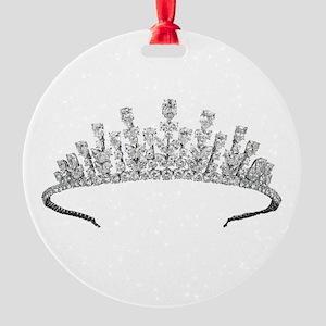 tiara Round Ornament