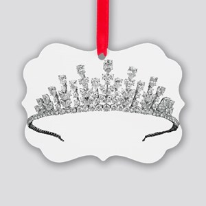 tiara Picture Ornament