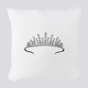 tiara Woven Throw Pillow