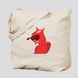 Music Fox Tote Bag