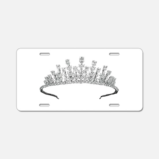 tiara Aluminum License Plate