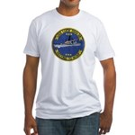 USS LUCE Fitted T-Shirt