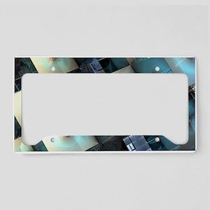 Fragmentary License Plate Holder