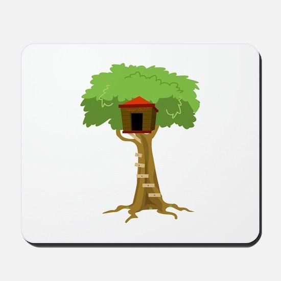 Tree House Mousepad
