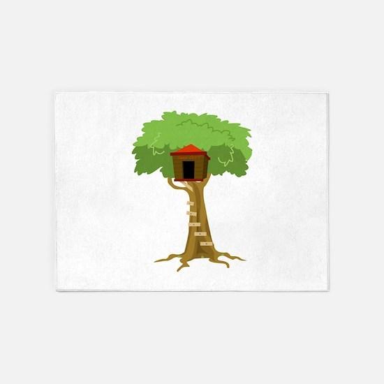 Tree House 5'x7'Area Rug