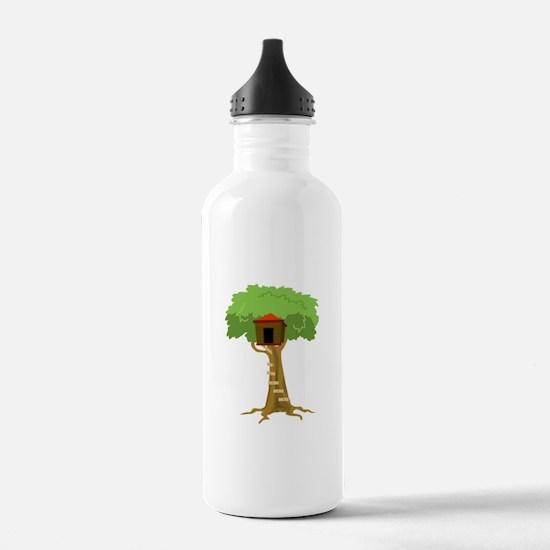 Tree House Water Bottle