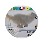 Leap Dogging WOOF Games 2014 Ornament (Round)