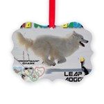 Leap Dogging WOOF Games 2014 Ornament