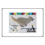 Leap Dogging WOOF Games 2014 Banner