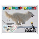 Leap Dogging WOOF Games 2014 Posters