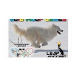 Leap Dogging WOOF Games 2014 Wall Decal