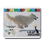 Leap Dogging WOOF Games 2014 Mousepad