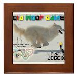 Leap Dogging WOOF Games 2014 Framed Tile