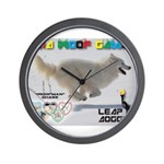 Leap Dogging WOOF Games 2014 Wall Clock