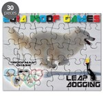 Leap Dogging WOOF Games 2014 Puzzle