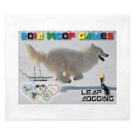 Leap Dogging WOOF Games 2014 King Duvet