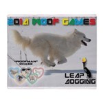 Leap Dogging WOOF Games 2014 Throw Blanket