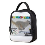 Leap Dogging WOOF Games 2014 Neoprene Lunch Bag