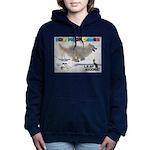 Leap Dogging WOOF Games 2014 Women's Hooded Sweats