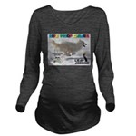 Leap Dogging WOOF Games 2014 Long Sleeve Maternity