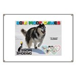 Snow-Shoeing WOOF Games 2014 Banner