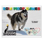Snow-Shoeing WOOF Games 2014 Posters