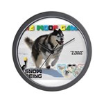 Snow-Shoeing WOOF Games 2014 Wall Clock