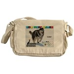Snow-Shoeing WOOF Games 2014 Messenger Bag