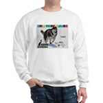 Snow-Shoeing WOOF Games 2014 Sweatshirt