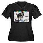 Snow-Shoeing WOOF Games 2014 Plus Size T-Shirt