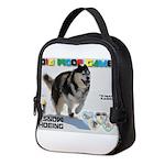 Snow-Shoeing WOOF Games 2014 Neoprene Lunch Bag