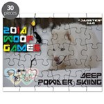 Deep Powder Skiing WOOF Games 2014 Puzzle