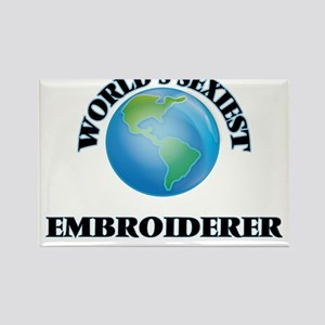 World's Sexiest Embroiderer Magnets