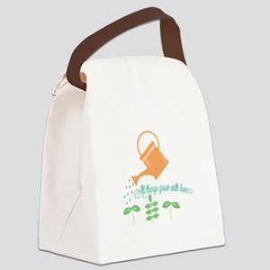 Grow With Love Canvas Lunch Bag