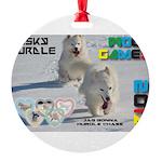 Husky Hurdle WOOF Games 2014 Ornament