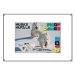 Husky Hurdle WOOF Games 2014 Banner