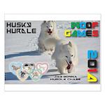 Husky Hurdle WOOF Games 2014 Posters