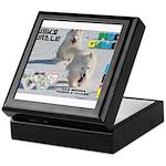 Husky Hurdle WOOF Games 2014 Keepsake Box